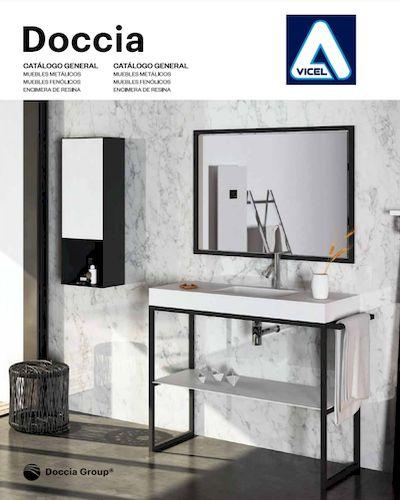Catálogo de Muebles y encimeras de baño de Doccia Group