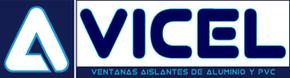 Logo aluminios vicel ventanas pvc