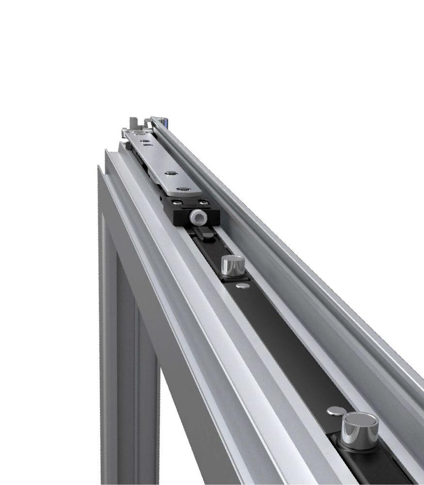 Accesorios para cerramientos en aluminio, pvc, cristal y acero