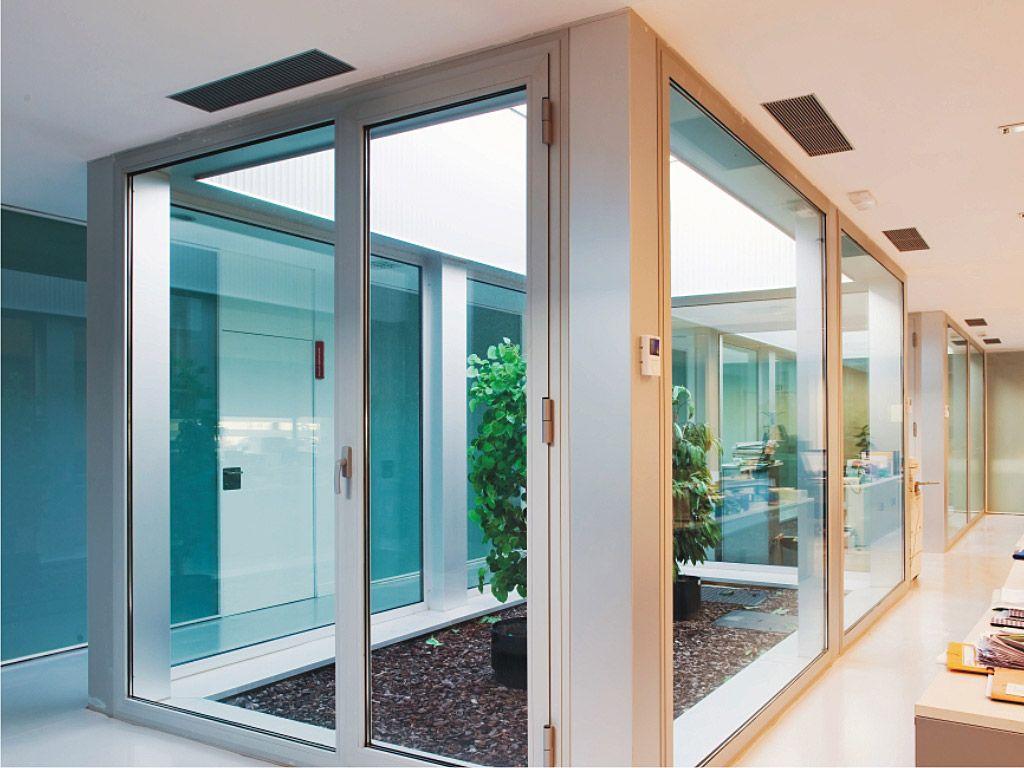 puertas de aluminio cortizo